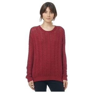 Vince 100% cotton chunky textured sweater